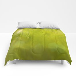 the closest green Comforters