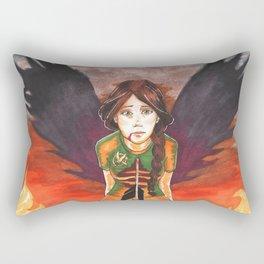 Nightmare of You Rectangular Pillow