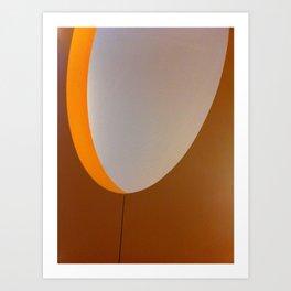 yoU shaped Art Print