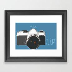 Click! - camera Framed Art Print