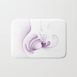 Purple Swirls Bath Mat