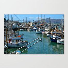 San Francisco's Fisherman's Warf Canvas Print