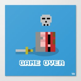 Game Over!... Canvas Print