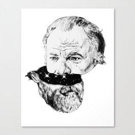 Half K Dick Canvas Print
