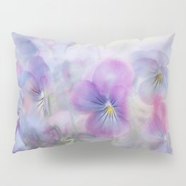 little pansies Pillow Sham