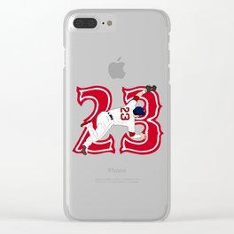 Chavis Catch Clear iPhone Case