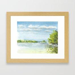 Georgina Island, Summer 2015 Framed Art Print