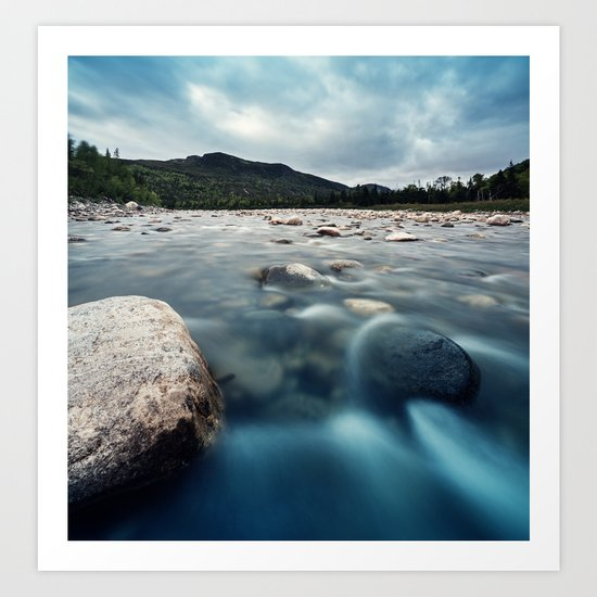 Riverscape Art Print