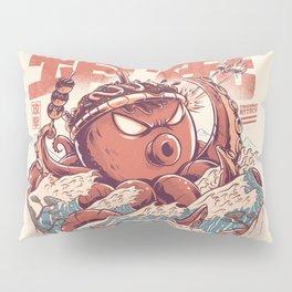Takoyaki Attack Pillow Sham