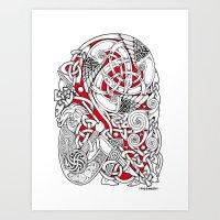 The Dreaming Warrior Art Print