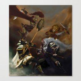 Battle of Gods Canvas Print