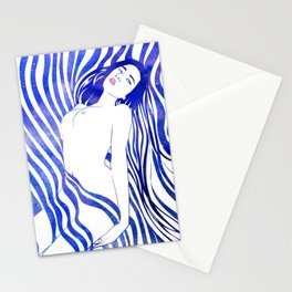 Water Nymph XIV Stationery Cards