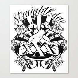 StraightEdge Canvas Print