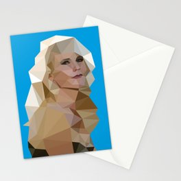 Cyan Blonde Stationery Cards