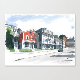 Pascal Ave, Rockport Canvas Print