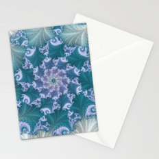 floral abstract background Stationery Cards