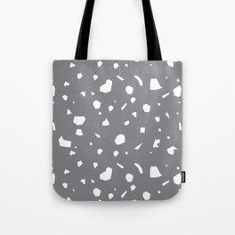 Grey Terrazzo Tote Bag