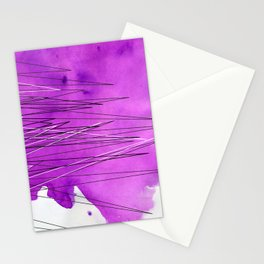 Watercolor Triangle Stationery Cards