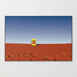 outback vegemite Canvas Print
