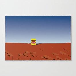 outback vegemite Canvas Print