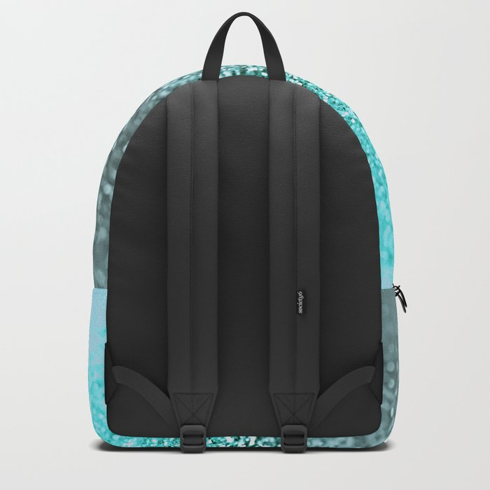 TEAL GLITTER Backpack