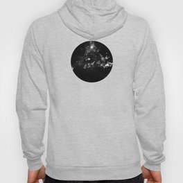 God's Window - Black And White Space Painting Hoody