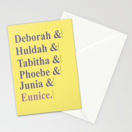Biblical Leaders Stationery Cards