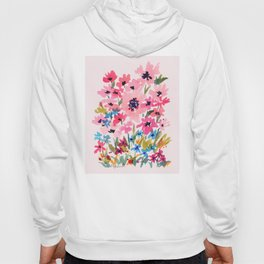 Peachy Wildflowers Hoody