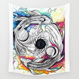 Pisces Dream Pool Wall Tapestry