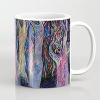 the shining Mugs featuring Shining forest by ShaMiLa