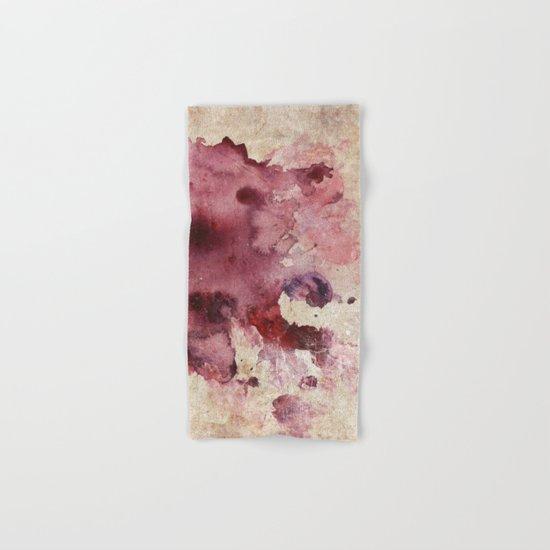 Garnet Color Splash Hand & Bath Towel