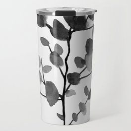 Watercolor Leaves II Travel Mug