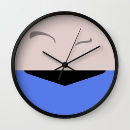 Spock - Minimalist Star Trek TOS The Original Series - Trektangle - Trektangles - startrek Wall Clock