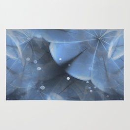 California Wave (steel blue) Rug