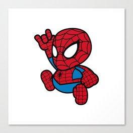 Cute Spider Canvas Print
