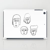 no face iPad Cases featuring Face by Etiquette