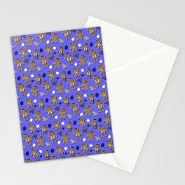 Hanukkah Gingerbread Stationery Cards