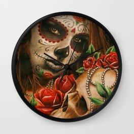 Pearl Girl Wall Clock