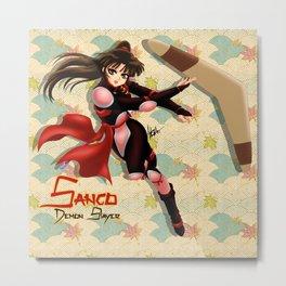 Sango Metal Print