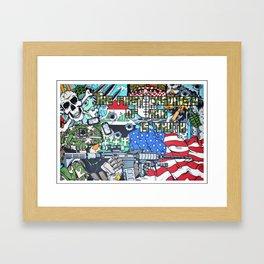 Nation United Framed Art Print
