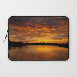 Fire Clouds Laptop Sleeve