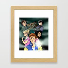 WELCOME TO RIVERDALE Framed Art Print