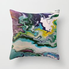 Cool Colors Throw Pillow