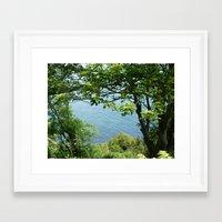 frame Framed Art Prints featuring Frame. by Sandra Martins