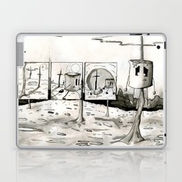 He Roasted for Our Sins Laptop & iPad Skin