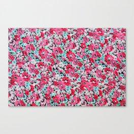 Little flowers | Petites fleurs Canvas Print