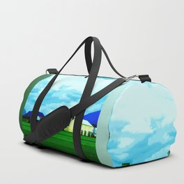 All At Once We Had It In For The Sky Duffle Bag