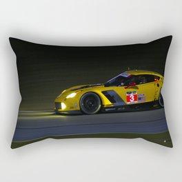 Corvette C7R | Rolex 24 Rectangular Pillow