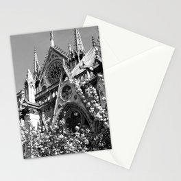 Blossoms, Spires and Gargoyles Stationery Cards
