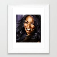 queen Framed Art Prints featuring Queen by Lily Fitch